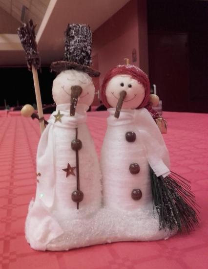les 2 bonhommes de neige